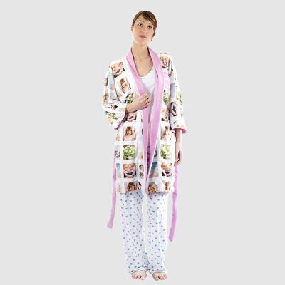 personalised kimono dressing gown