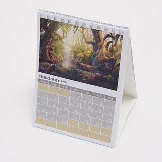 promotional desk calendar