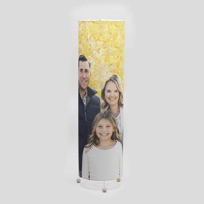 lampara personalizada foto aniversario
