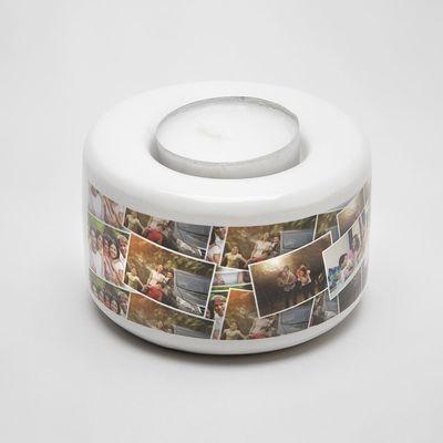 personalised tea light holder