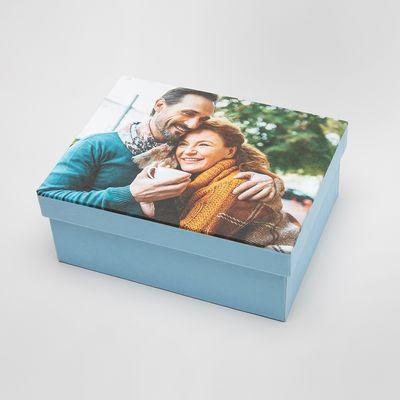 Boîte à souvenirs pour bébé personnalisée