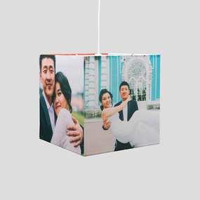 custom photo lamp cube
