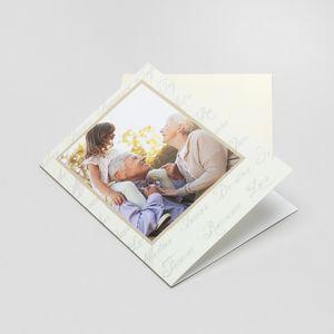 personalised photo upload cards