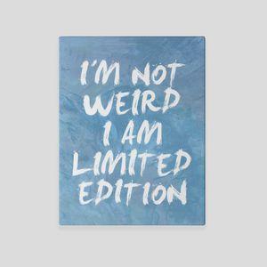 personalised word canvas