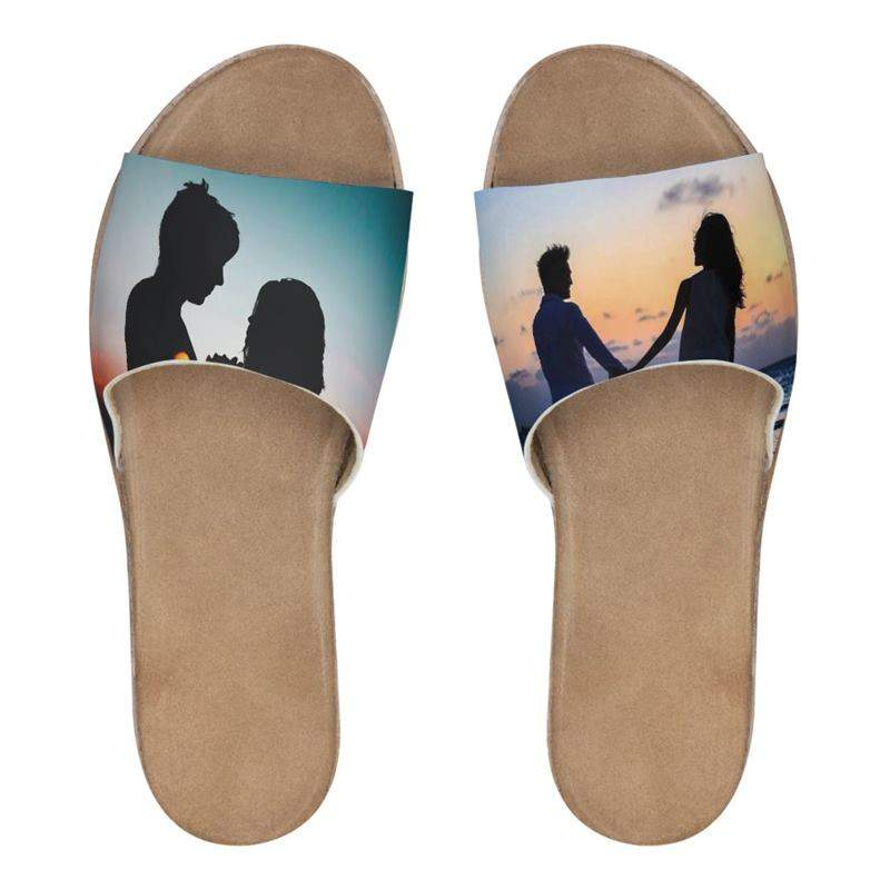 acaf4e33013ed Personalised Sliders. Personalised Slider Sandals. Women s Shoes UK