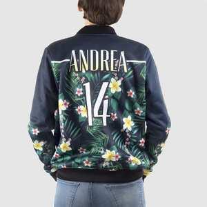 personalised ladies bomber jacket