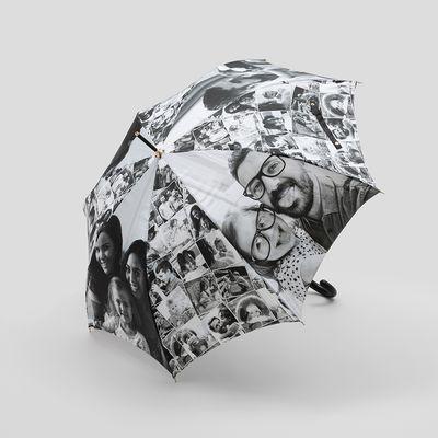 paraguas navideño