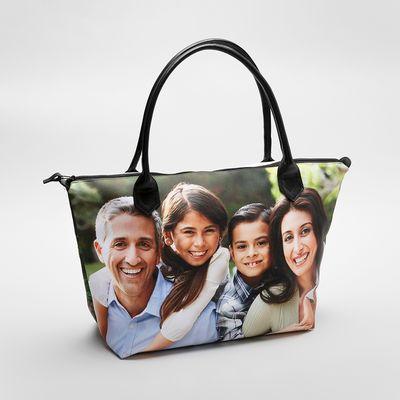 custom tote bags with zipper