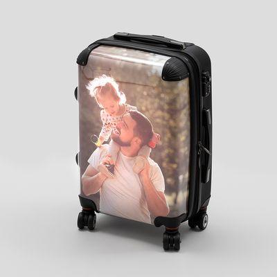 Valigia con foto personalizzata