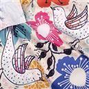 cotton sateen print fabric