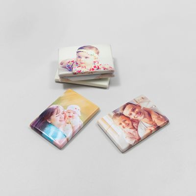 Personalized gift fridge magnet