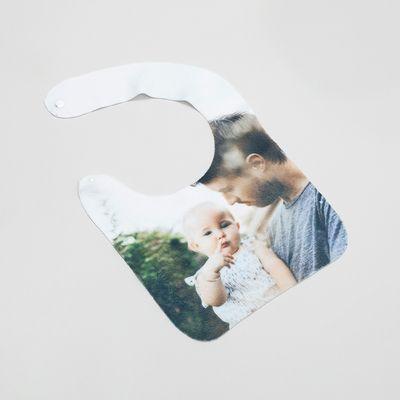 babero personalizado con fotos para bebé