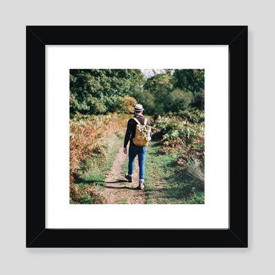 Fotodruck mit Rahmen