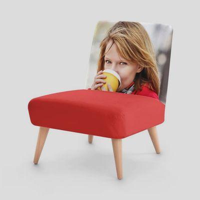 Stuhlsessel mit Foto