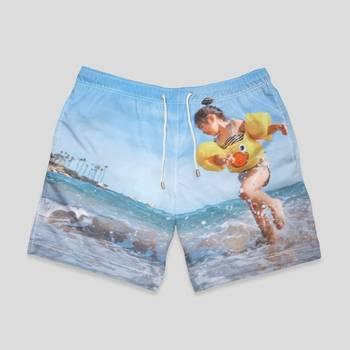 personalised swimming shorts