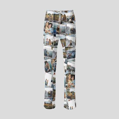 personalised wide leg pants