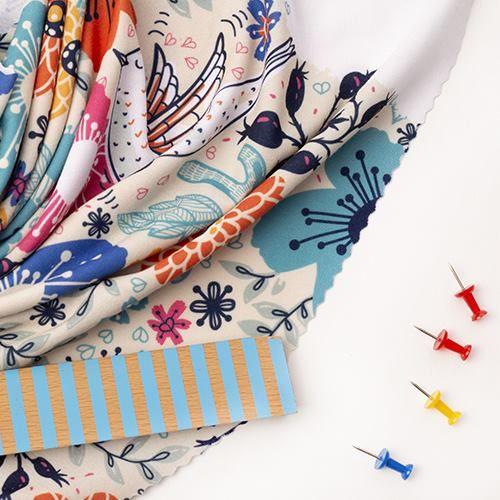 Soft Fashion Jersey Fabric