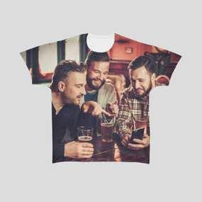 プリントメンズTシャツ