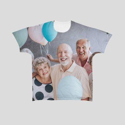 全面プリント Tシャツ
