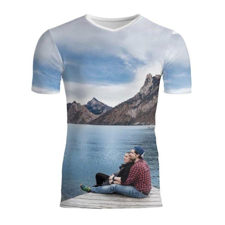 メンズ スリム フィット Tシャツ