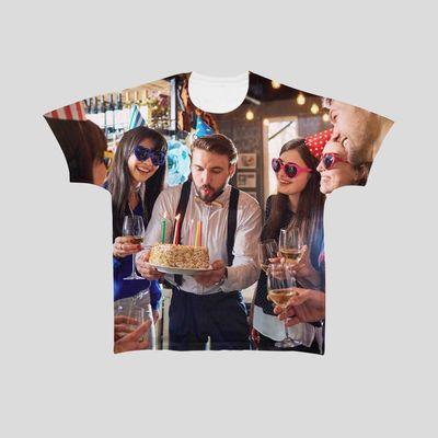 camiseta personalizada cumpleanos original
