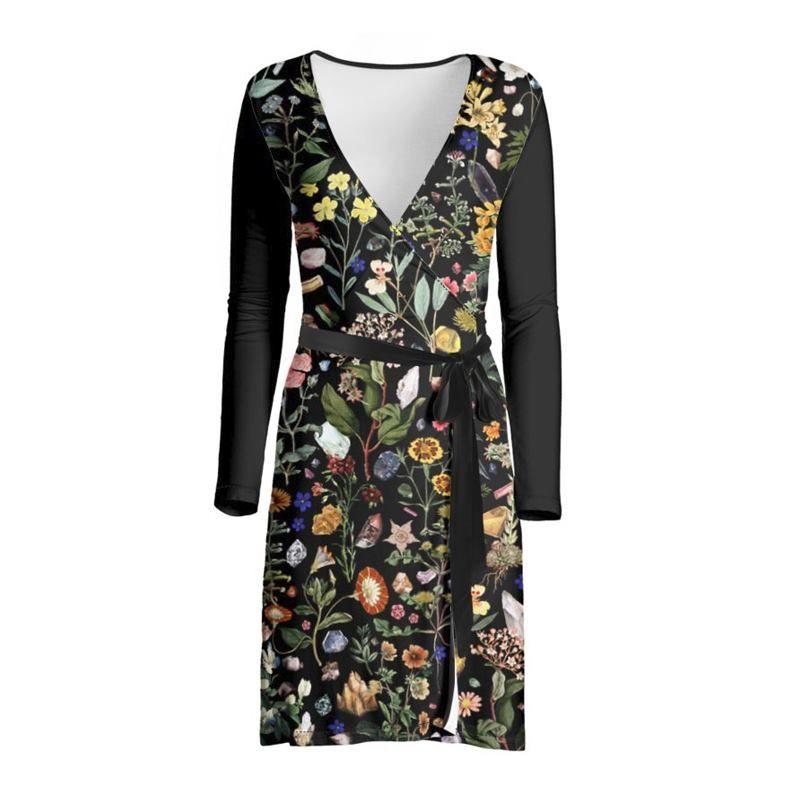 custom wrap dress
