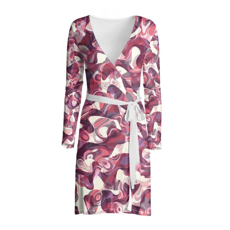 print your own custom wraparound dress