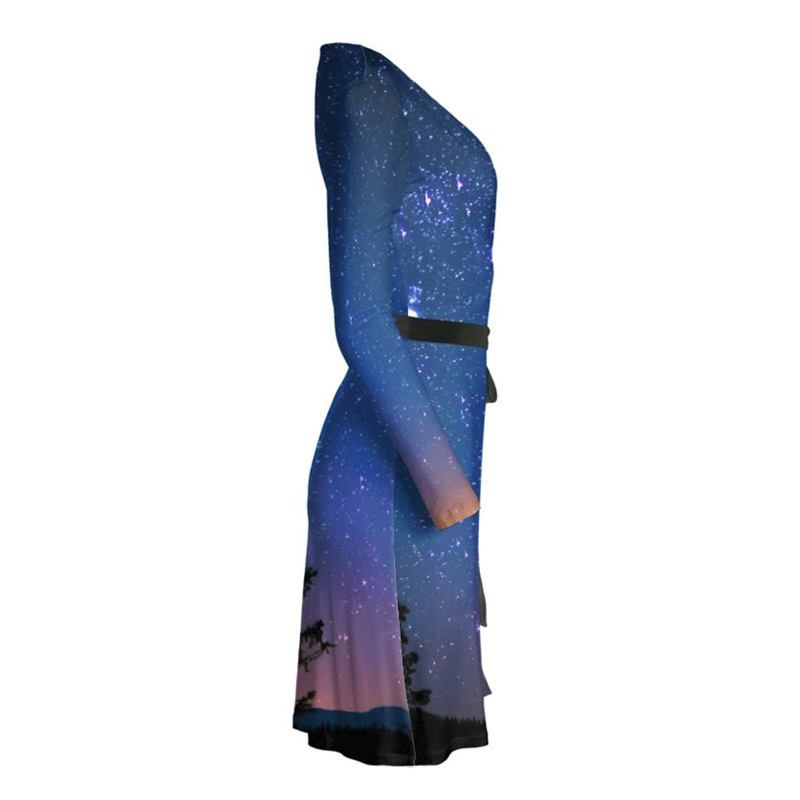 custom wrap dress your design