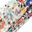custom-printed viscose fabric