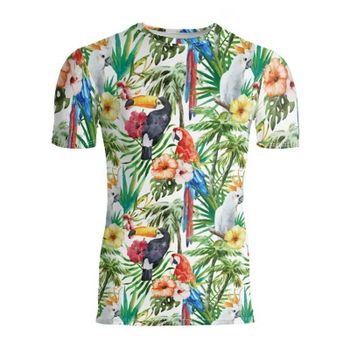 メンズスリムフィットTシャツ