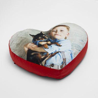cojines corazon personalizados para suelo