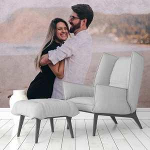 personalised livingroom wallpaper