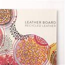 stampa personalizzata su tessuto di pelle riciclata
