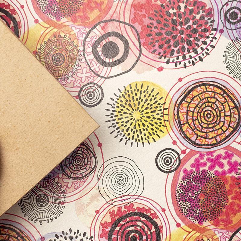 Impression sur cuir recyclé en couleur