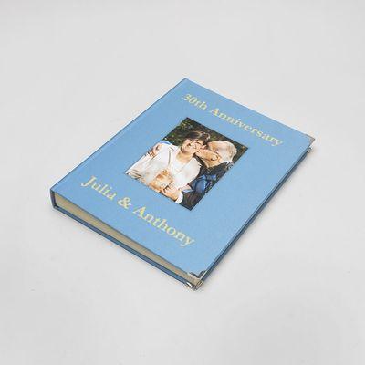 herinneringsboek met foto's