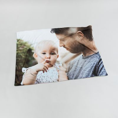 manta de fotos para papa