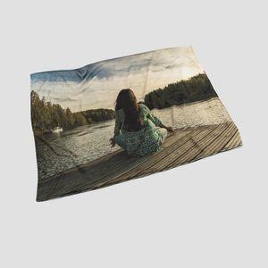 Plaid imprimé avec photos