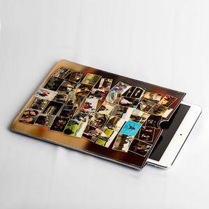 Personligt läder iPad Mini skal