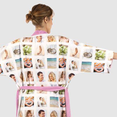 personalized kimono dressing gown