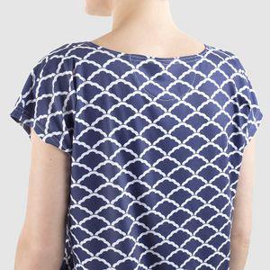 personalised womens pyjama top