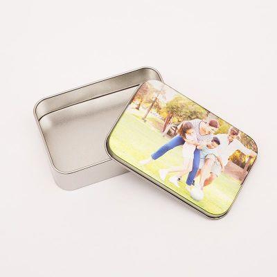 シルバー缶ケース オリジナル