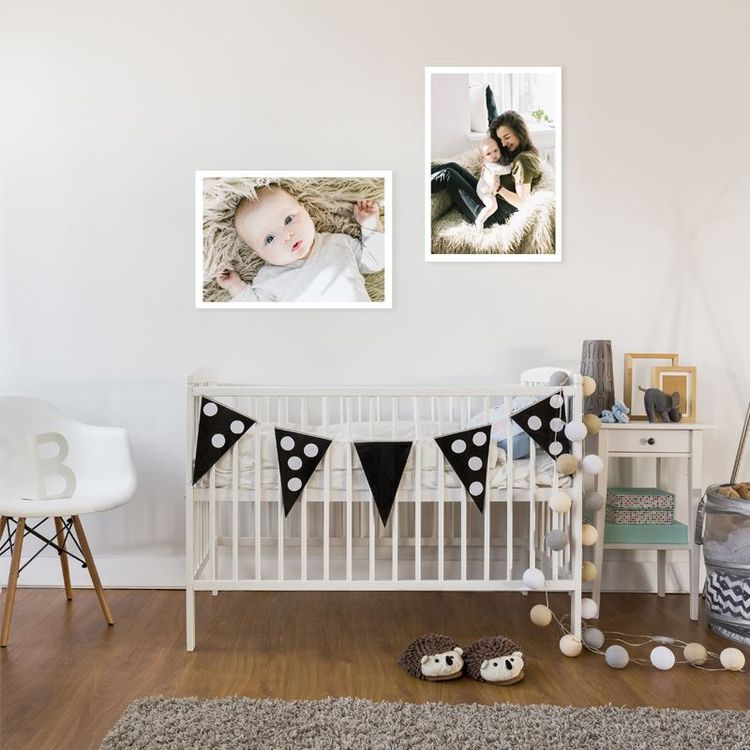 Agrandissement photo pour chambre d'enfant