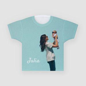 personalised name kids tshirt