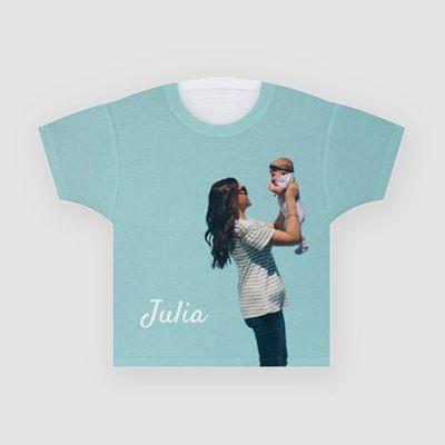 personlig t-shirt med namn för barn