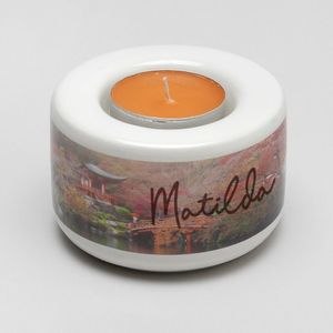 personalised name tea light holder