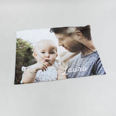 baby photo blanket