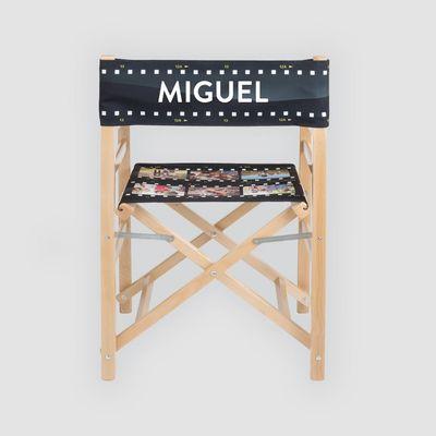 gepersonaliseerde regiestoel met naam