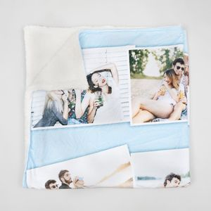 Custom Photo Throw Blanket