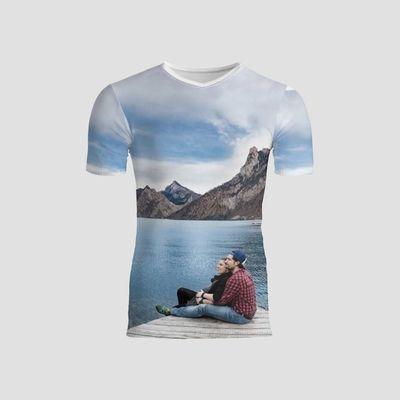 T-Shirt Slim Fit uomo personalizzata