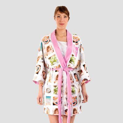 silky personalised kimono